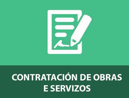 Contratación de obras e servizos
